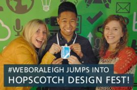 #WeboRaleigh Jumps into Hopscotch Design Fest