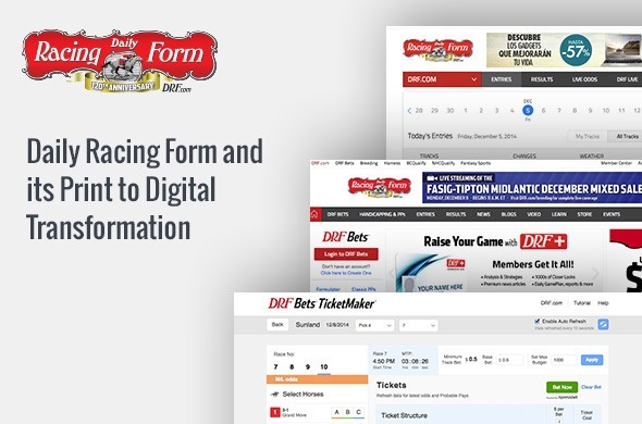 Daily Racing Form and its Print to Digital Transformation | Webonise